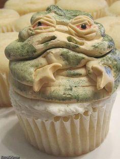 Jabba the cupcake #starwars