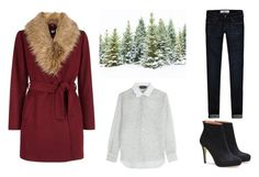 """""""winter look"""" by yseultdel ❤ liked on Polyvore featuring New Look, Rochas and Abercrombie & Fitch"""