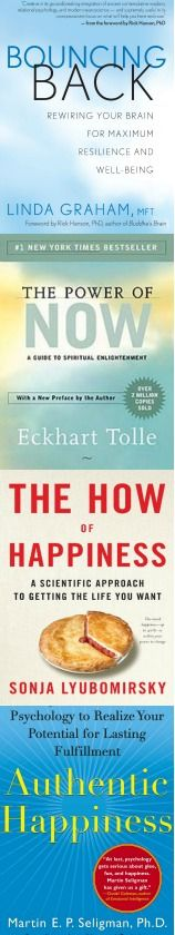 Happiness books - see nine great books that will bring greater happiness to your life.