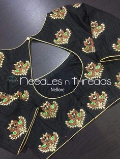 Best Blouse Designs, Simple Blouse Designs, Stylish Blouse Design, Sari Blouse Designs, Bridal Blouse Designs, Blouse Patterns, Blouse Styles, Hand Work Blouse Design, Hand Embroidery