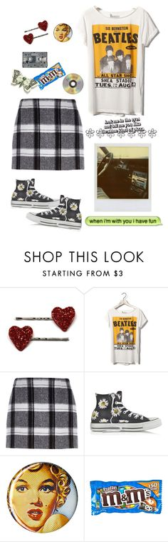 """The world is crazy; but you and me were just lazy"" by wallowingwillow ❤ liked on Polyvore featuring Polaroid, Pull&Bear, River Island, Converse, CASSETTE and ELSE"