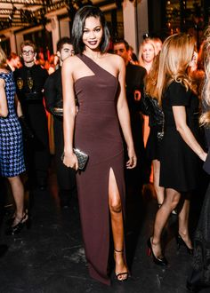 The Eighth Annual God's Love We Deliver Golden Heart Awards Gala — Vogue.  Chanel Iman in Michael Kors