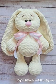 2019 All Best Amigurumi Crochet Patterns - Amigurumi Free Pattern The most admired amigurumi crochet toy models in 2019 are waiting for you in this article. The most beautiful amigurumi toy patterns are all on this site. Crochet Easter, Crochet Bunny Pattern, Crochet Rabbit, Crochet Amigurumi Free Patterns, Crochet Teddy, Crochet Animal Patterns, Crochet Dolls, Crochet Baby, Free Crochet