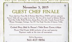 Turn the Table, Guest Chef Finale November 3, 2015