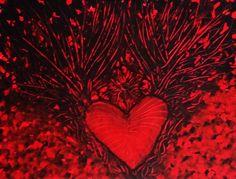 Initiation sentimentale Acrylique sur carton en toile traditionnel   35x27cm avril 2007
