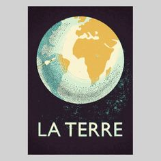 La Terre Print, £36, now featured on Fab.