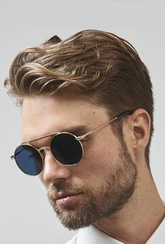 25 Best Mens Sunglasses Trends 2019 - The Finest Feed Best Aviator Sunglasses, Best Mens Sunglasses, Cute Sunglasses, Trending Sunglasses, Luxury Sunglasses, Round Sunglasses, Summer Sunglasses, Sunglasses Women, Mens Fashion Trends 2019