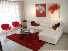 Trendy Living Room Ideas Apartment Red Bedrooms Ideas – Home Decor Apartment Red Living Room Decor, Living Room Modern, Living Room Sofa, Home Living Room, Bedroom Red, Bedroom Decor, Red Bedrooms, Apartment Bedrooms, Home Room Design