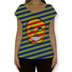 Camiseta fullprint Caveira POP de @alexoliveiradesign | Colab55