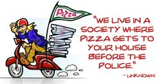 Pizza delivery!