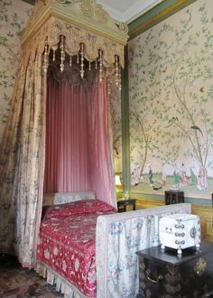 Belton House, National Trust, Grantham, Lincolnshire  | Chinese Bedroom | by anthsnap!