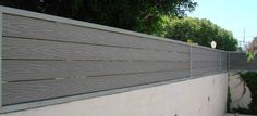 fence toppers ideas for vinyl fencing on top of walls