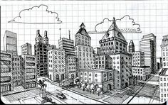 2 point perspective lesson