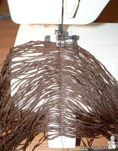 How to give a rag doll hair. Text is in Russian, but the pictures are pretty good, I can figure this out!