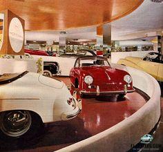 Porsche_Frank Lloyd Wright showroom, NYC