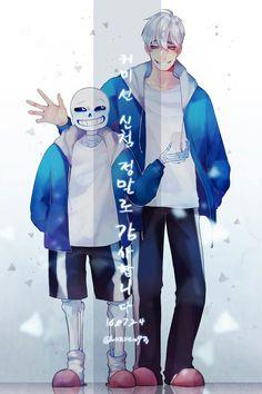Undertale- humanized/ anime version/ gijinka