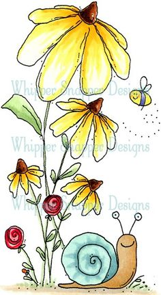 Linda Hatfield and Madison Hatfield. This is really a cute pattern to paint. Doodle Drawings, Easy Drawings, Doodle Art, Watercolor Cards, Watercolor Flowers, Watercolor Paintings, Watercolour, Diy Note Cards, Happy Paintings