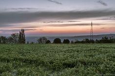sunrise on the hill by Alessandro Zanarini