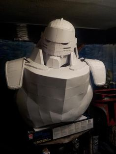 FMA Alphonse Elric Pepakura Files - Cosplay.com And I happen to know someone who can fiberglass!!