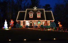 außenbeleuchtung für weihnachten                              …