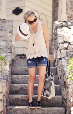 A cute and comfy look for Summer