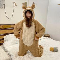 Pijamas Onesie, Onesie Pajamas, Animal Pajamas, Bear Ears, Mixed Fiber, Animal Fashion, Tomboy Fashion, Lounge Wear, Hoods