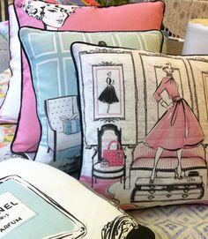 Megan Hess beautiful cushions