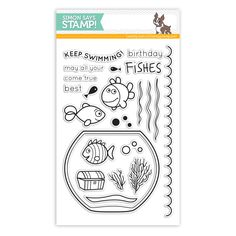 Simon Says Clear Stamps BEST FISHES sss101424 This is the Life