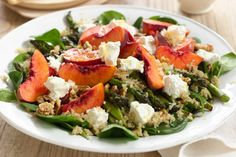 Benefit from the super powers of quinoa with Curtis Stone's asaparagus salad, bursting with vitality and flavour!