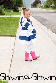 DIY Raincoat || Michelle Jacket || Shwin&Shwin