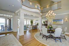 interior modern mansion Exquisite US Bayfront Estate Inspiring Positive Holiday Vibes
