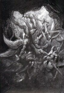 Paradise Lost – The Art of Simon Bisley Simon Bisley, Cool Optical Illusions, Apocalypse Art, Satanic Art, Fantasy Art Men, Demon Art, Macabre Art, Composition Design, Lost Soul