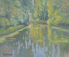 Bord de rivière by Vaclav Radimsky