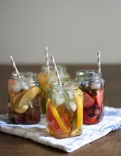 Infused Water Summer Drink