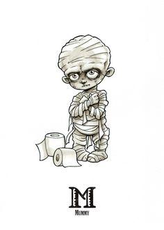 Zombie Drawings, Alien Drawings, Halloween Drawings, Halloween Painting, Cartoon Drawings, Halloween Stencils, Inktober, Horror Cartoon, Horror Drawing