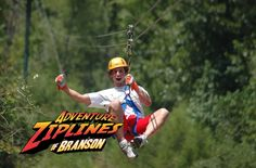 Things to do Branson, Missouri - Adventure Ziplines of Branson. Can't Beat The Fun in Branson, MO