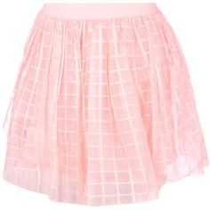 Boohoo Boutique Marin Grid Tulle Skater Skirt | Boohoo (68 RON) ❤ liked on Polyvore featuring skirts, pleated midi skirt, flared midi skirt, maxi skirts, pink pleated skirt and pink mini skirt