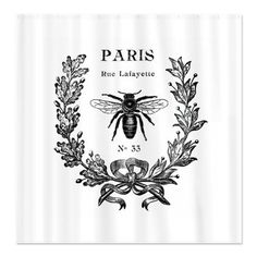 Vintage French Queen Bee Shower Curtain | Pinterest | Queen Bees, Bees And  Queens