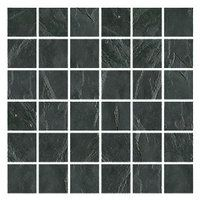 shower floor:  Adoni Black 2 x 2 in