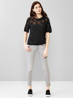 Daisy burnout tee Product Image