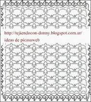 Resultado de imagen de puntillas de crochet para mantillas de bebe