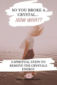What does it mean when your crystal breaks? Is it a sign something bad is yet to come, or is your energy is changing? Find out why your crystal breaks. Spiritual Meaning, Spiritual Enlightenment, Spiritual Awakening, Spirituality, Spiritual Awareness, Spiritual Health, Types Of Angels, Aura Colors, Move Forward