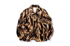 "DeMarcoLab ""TIGER CAMO CORD. FIELD COAT""/ Taiwan street wear brand"