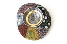 Steve Ford and David Forlano have achieved new heights in their striking jewelry of polymer clay and precious metal. Precious Metals, Polymer Clay, Ford, David, Tableware, Jewelry, Dinnerware, Jewels, Dishes