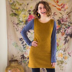 Ravelry: Brae Cove Tunic pattern by sam lamb