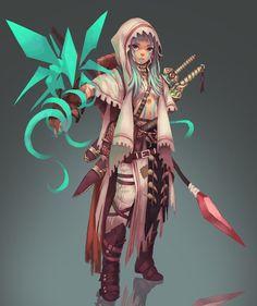 Com/Artwork/Aoemz fantasy character design, game character d Character Design Cartoon, Character Design References, Fantasy Character Design, Character Design Inspiration, Character Concept, Character Art, Concept Art, Character Ideas, Dnd Characters