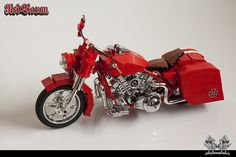 The Red Baron rides again - Lego