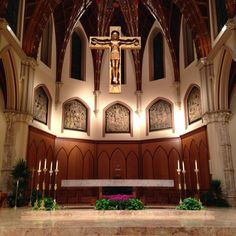 Holy Name Cathedral, Chicago (altar)