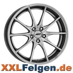 AEZ Bridge Leichtmetallräder Hochglanz silber AEZ wheels