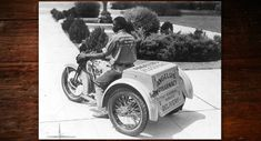 Harley-Davidson decided to produce a three-wheeled commercial vehicle that would debut as the Servi-Car in 1932.